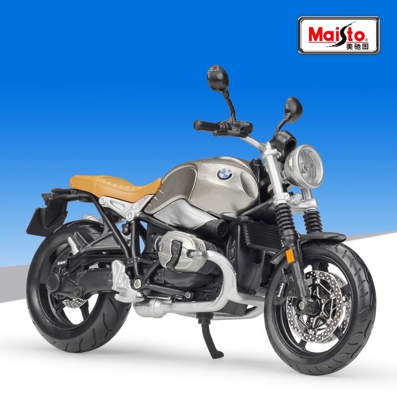1:12 Maisto BMW R Nine T Scrambler Streetbike Die-Cast Motorcycle