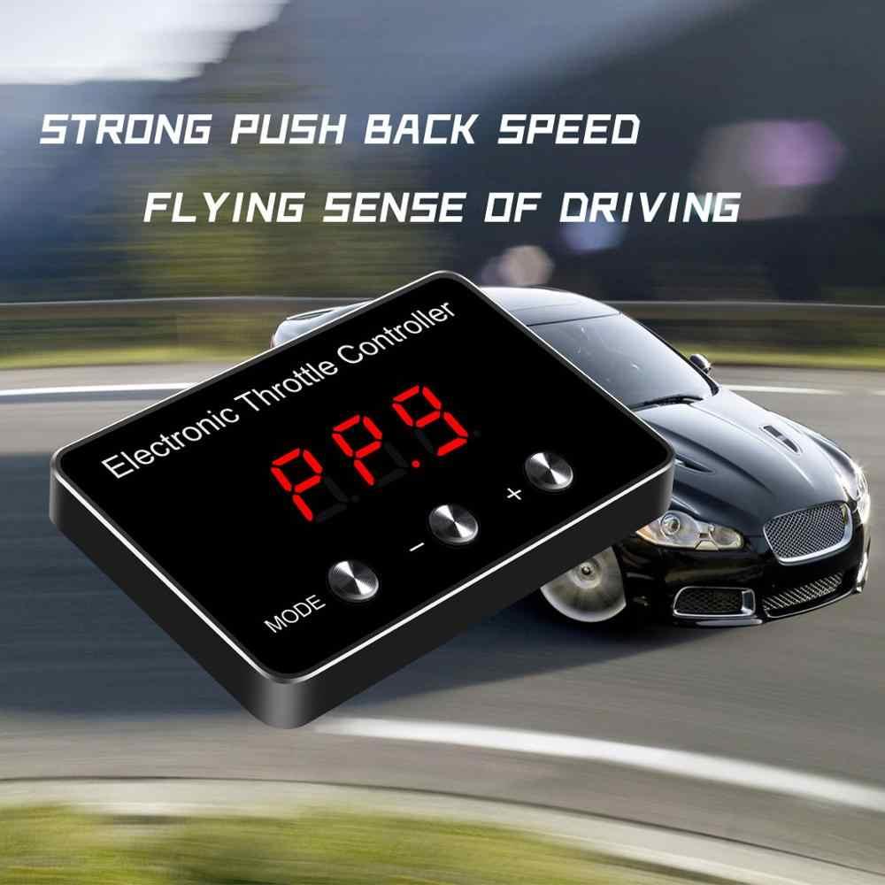 Auto Geschwindigkeit up Auto Elektronische Drossel Controller Auto Zubehör Pedal Booster Beschleuniger Kommandant für Jeep Cherokee 2006 +