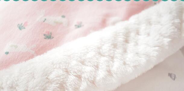 MOTOHOOD Winter Baby Blankets Newborn Swaddle Muslin Swaddle Baby Wrap Warm Baby Blanket Cotton Stroller Blankets  (8)