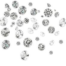 Cubic Zirconia Cabochons Clear Grade A Faceted Diamond for Jewelry Making DIY 1mm 2mm 3x2mm 4x2.5mm 5x3mm 50pcs/set