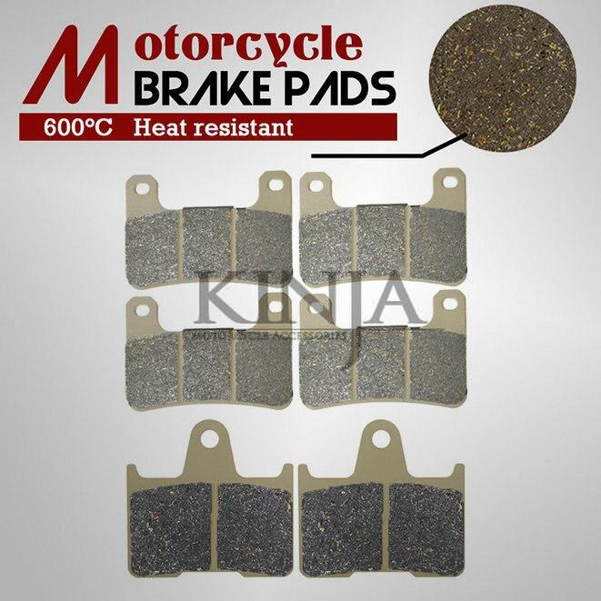 F+R Brake Pads For SUZUKI GSXR 600 GSXR 750 2004-2005 GSXR 1000 2004 2005 2006