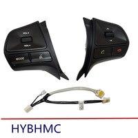 Новинка с Bluetooth! для KIA k2 новая многофункциональная кнопка рулевого колеса Rio для аудио и Bluetooth управления со светом