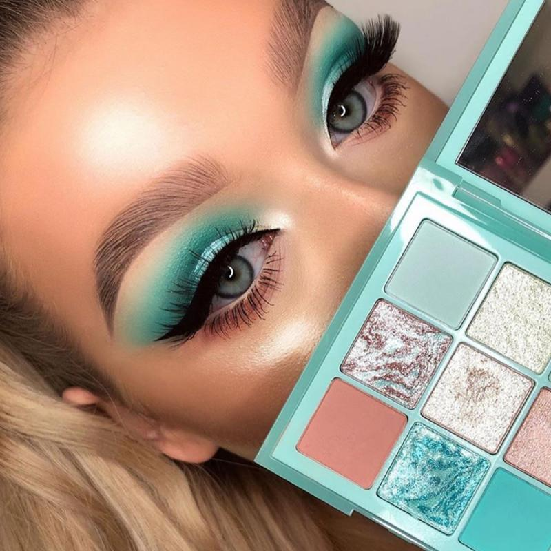 Missyoung 9 Colors Eyeshadow Pallete Waterproof Matte Eye Shadow The Shadows Ins New Cosmetics Paleta De Sombra Long Lasting