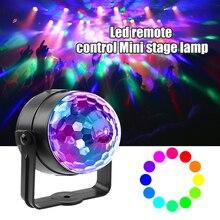 Trwała LED RGB magiczna kula świetlna praktyczny wielofunkcyjny pilot efekt sceniczny lampa dla DJ Disco Bar Party