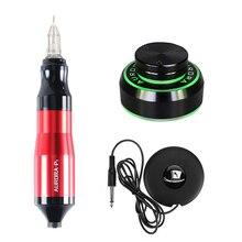 Professional Tattoo Rotary Pen Kits  Cartridge Needles Sets Power Supply Accessories Tattoo Supplies Hot Sale B7