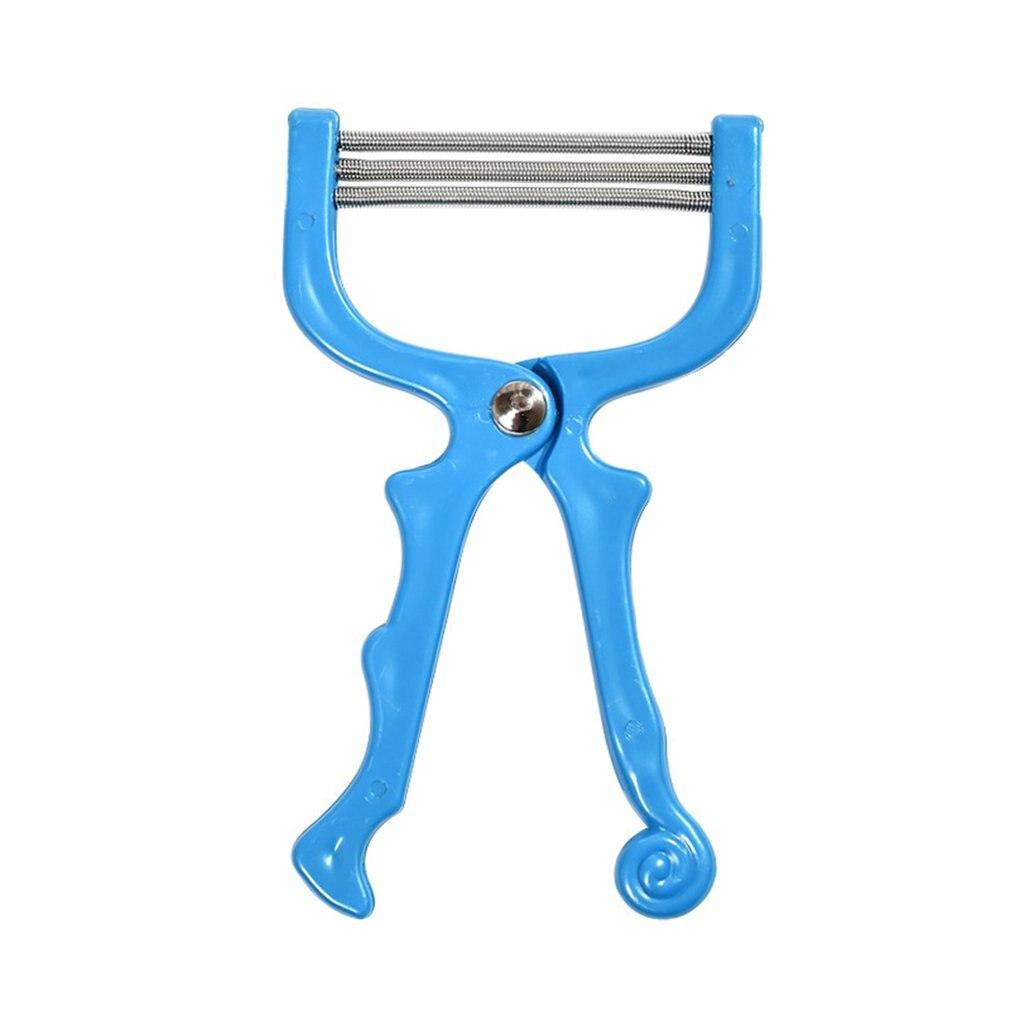 Safe Handheld Facial Hair Removal Full Body Manual Plucking Device Threading Beauty Epilator Leg Clipper