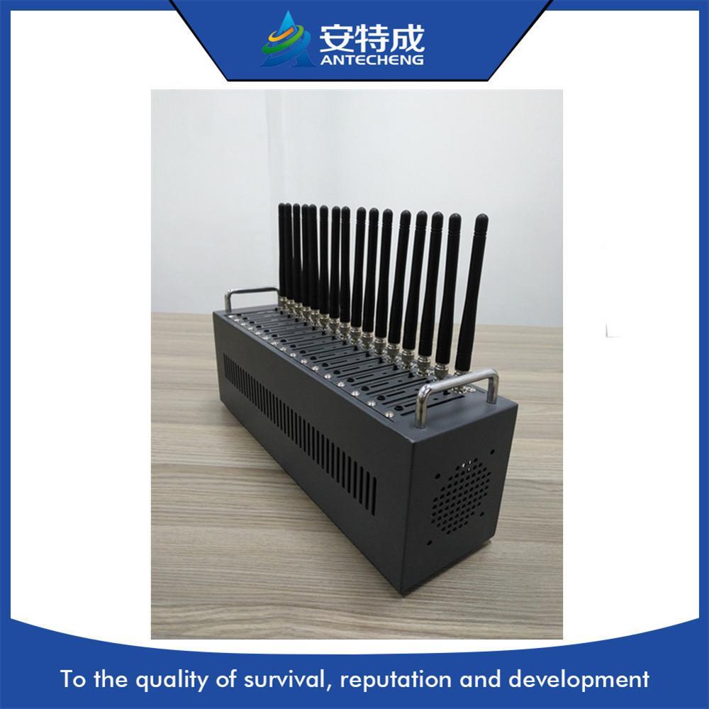Wireless 3g Modem 16 Sim SIM5360E, 3G 16port Modem, Support Sms Sending And Receive, IMEI Change