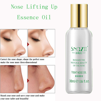 Nose Up Heighten Rhinoplasty oil 30ml Nose Up Heighten Rhinoplasty Nasal Bone Remodeling Pure Natural Care Thin Smaller nose effecttive powerful nosal bone remodeling oil beautiful nose lift up cream magic essence cream beauty nose up shaping product