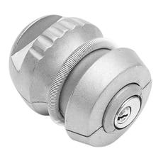 1 Trailer Zinc Alloy Hook Lock Ball Coupling Anti-Theft Device Trailer Accessories Caravan Lock Bolt 50 Mm