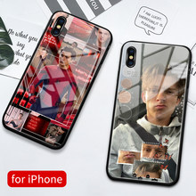 Para o iphone 12 mini caso de vidro capa traseira tom holland fotos caso iphone 12 capa para iphone 6s 7 8 plus x xs max xr 11 pro max