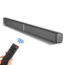 40 Вт ТВ Саундбар проводной и беспроводной Bluetooth 5,0 динамик домашний кинотеатр стерео звуковая панель встроенные сабвуферы с пультом дистанционного управления