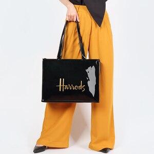 Image 2 - Mode PVC réutilisable sac à provisions femmes sac écologique londres Shopper sac grande capacité étanche sac à main sac à bandoulière