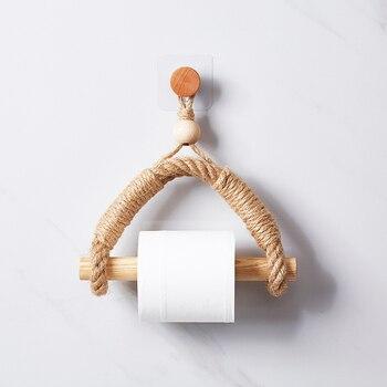 Antique towel rope home hotel bathroom decoration paper rack toilet toliet holder - discount item  5% OFF Bathroom Fixture