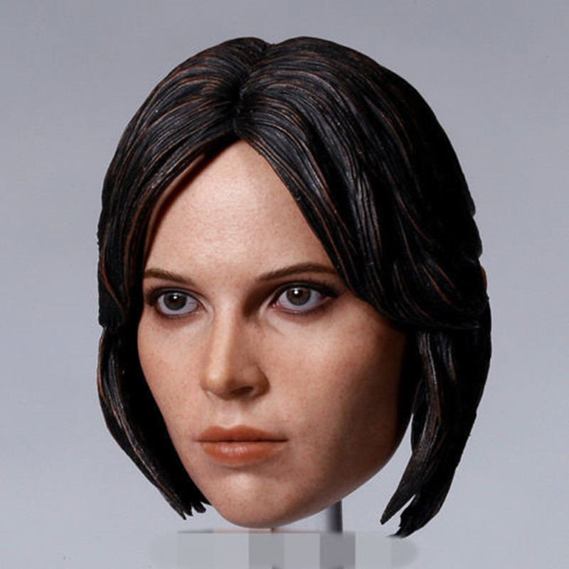 1//6 Star Wars The Force Awakens Rey Head Carved Sculpt F 12/'/' Figure Body Toy