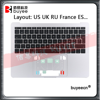 Original A1708 Topcase For Macbook Retina Pro 13'' A1708 Top case US UK RU France ES Keyboard with Backlight 2016 2017 new topcase with uk keyboard for macbook pro retina 13 3 a1502 2013 2014 years