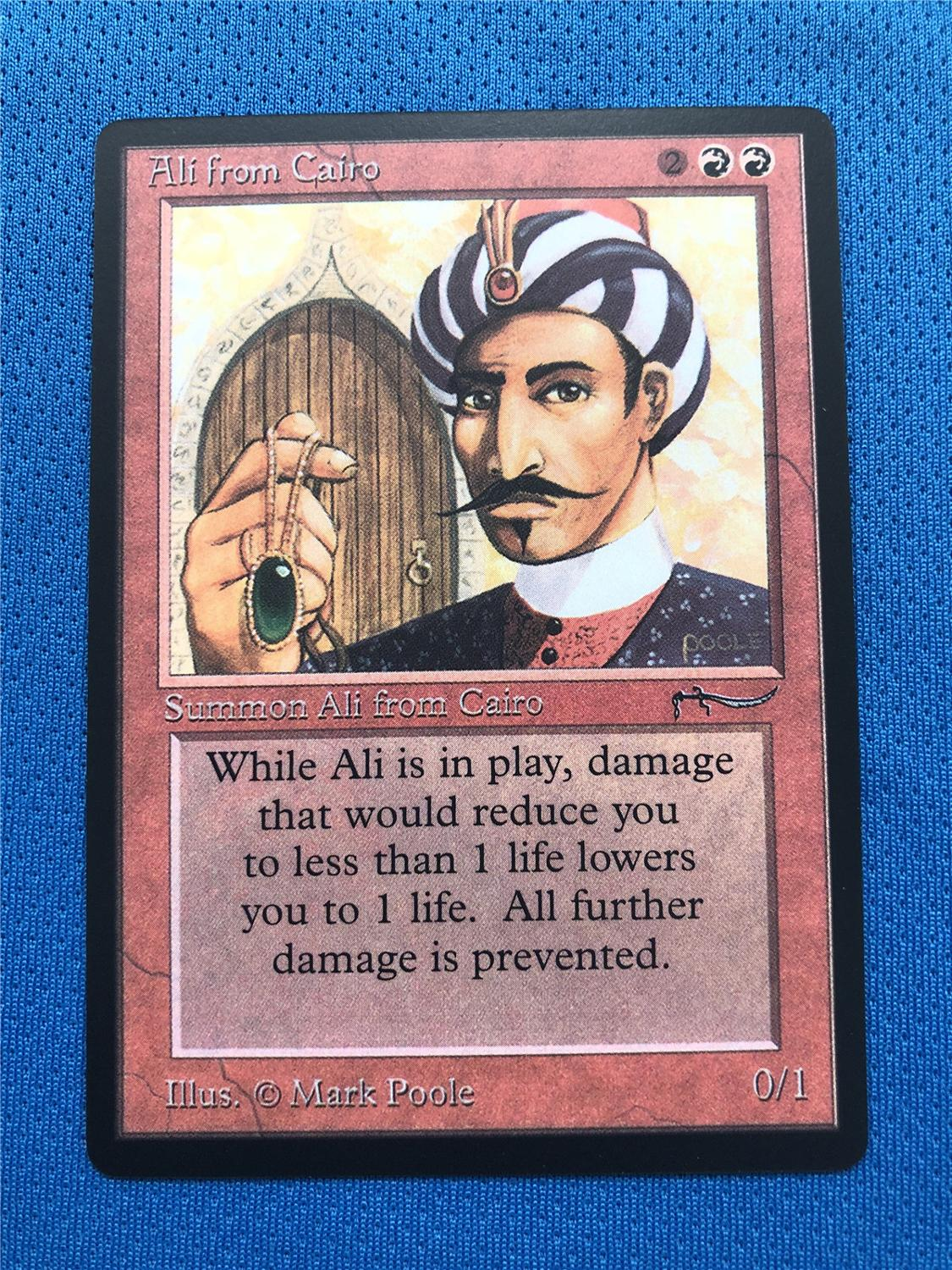 Ali From Cairo (ARN Arabian Nights) Magician ProxyKing 8.0 VIP The Proxy Cards To Gathering Every Single Mg Card.