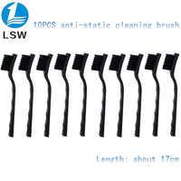 10 stücke Anti Statische Pinsel ESD Sicher Synthenic Faser Details Reinigung Pinsel Werkzeug Für Handy Tablet PCB BGA Reparatur arbeit