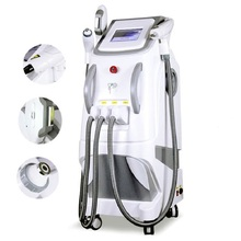 3 in 1 OPT IPL Elight SHR Hair Removal Tattoo Removal Machine Nd Yag Laser 6 70 135mm shr opt lamp ipl xenon lamp for fast hair removal