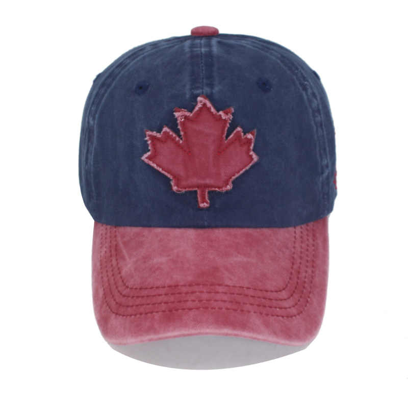 Pamuk Gorras marka kanada bayrağı erkekler beyzbol şapkası kanada şapka Mens Snapback kemik ayarlanabilir kadınlar beyzbol şapkası Snapback şapka