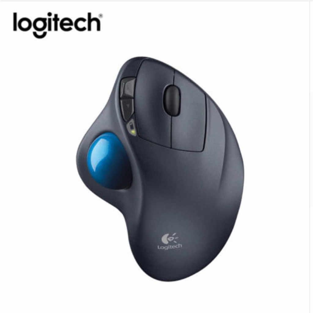 Logitech M570 2,4 ГГц Беспроводной трекбол эргономичная Мышь для Windows XP/7/8/10 Компьютерные аксессуары с USB приемник