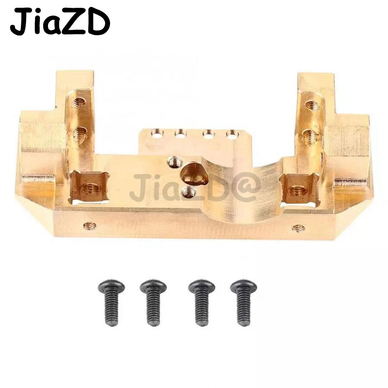 Image 5 - 1PCS TRX4 Brass Front Bumper with Servo Mount 114g for RC Car Traxxas TRX 4 1/10 Scale and Trail Crawler Parts A11Parts & Accessories   -