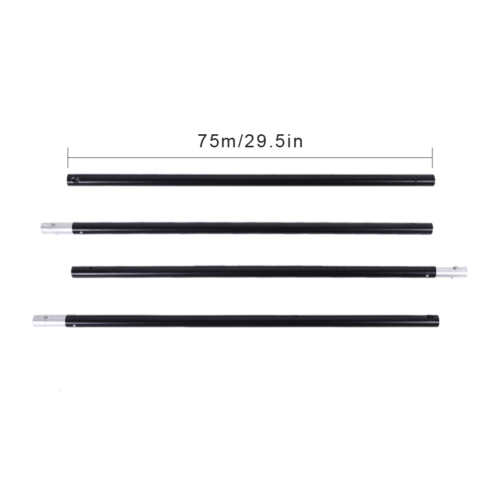 Image 4 - Andoer Photo Studio Background Support Backdrop Crossbar Kit with Two Clamps for Studio 200 * 300cm-in Photo Studio Accessories from Consumer Electronics