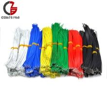 100 шт. UL1007 24AWG Электрический провод 0,14 мм олова покрытием Медь кабель можно резать Толщина припойная проволока 8/10/15/20 см, 5 цветов