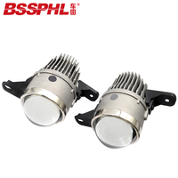 BSSPHL Car light 2.8 Bi xenon LED fog lamp lens Car styling Retrofit headlight fit for chevrolet Malibu