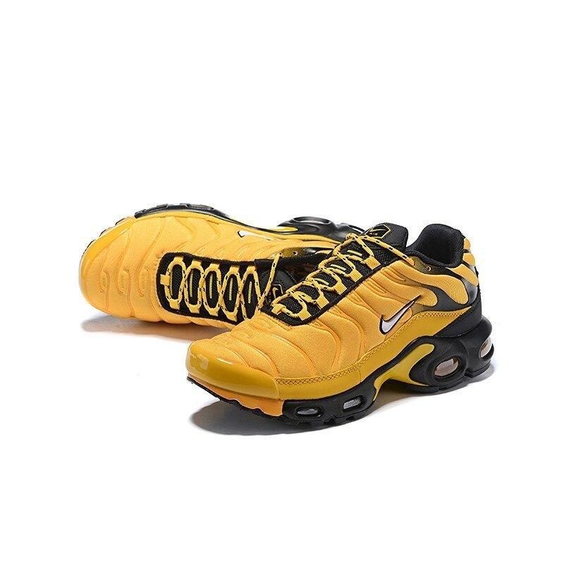 Nike Tn Air Max Plus Frequenza Pack Uomini di Colore Giallo Runningg Scarpe Comodi di Sport Scarpe da Ginnastica Leggere AV7940 700 Originale - 4