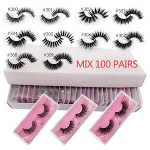 Image 1 - YSDO Lashes 20/30/40/50/100 PCS Mink Eyelashes Wholesale Natural False Eyelashes Extensions Makeup 3D Mink Lashes In Bulk Cilios