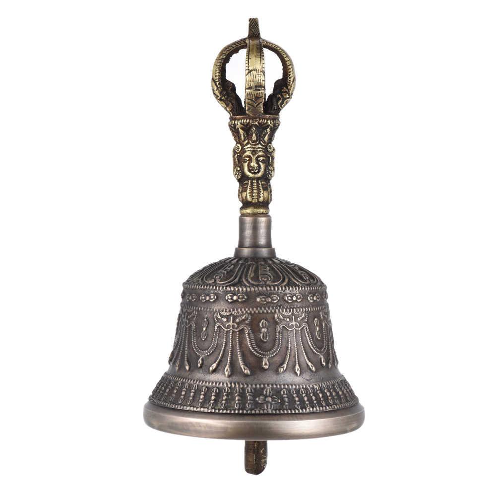 プレミアム手作りチベット瞑想歌とドルジェバジュラブロンズ寺院仏教仏教練習楽器