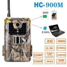 20MP 1080P 2G SMS MMS SMTP камера для наблюдения за дикой природой, камера ночного видения, электронная почта, Мобильная камера для охоты, уличная камера наблюдения