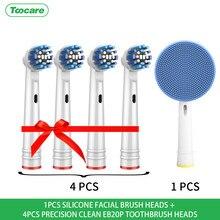 Cabezas de cepillo de dientes de reemplazo por vía oral-b limpieza precisa/3D Blanco/hilo de acción/acción cruzada/sensible cabezales de cepillo de dientes eléctrico