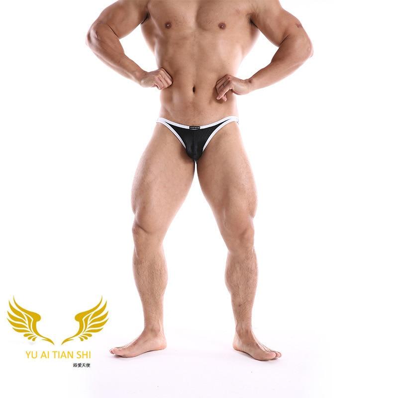 Ropa Interior Sexy Para Hombres Bikini Ropa Interior Para Hombres Escamas De Pescado Calzoncillos De Cintura Baja Hombres