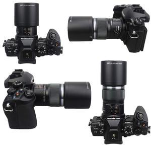 Image 4 - JJC הפיך מצלמה עדשת הוד עבור אולימפוס M. ZUIKO הדיגיטלי ED 60mm F2.8 מאקרו עדשה מחליף אולימפוס LH 49 עדשת הוד צינור