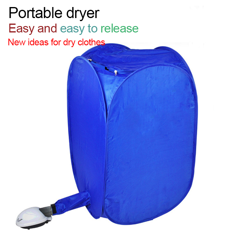 .Air-O-Dry Portable Household Clothes Dryer Folding Mini Dryer Drying Machine Installation Travelling ITAS2202