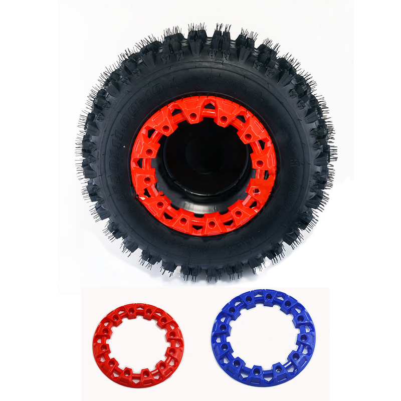 1pc 6inchs ATV Wheel Trim Hub Protection Decor Rim Cap Universal ATV Wheel Plastic Cover