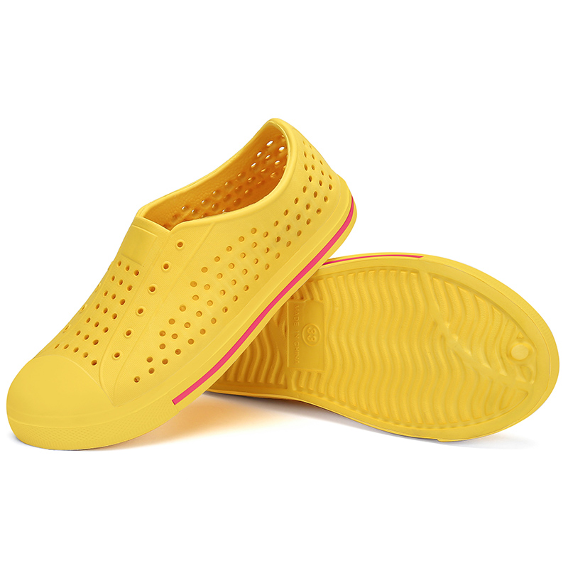 Summer Kids Shoes Breathable Boys Girls Sandals Outdoor Beach Slippers Sea Clogs Casual Shoes Children Flat Sandalia Infantil
