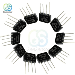 10Pcs/lot 3A 700V KBP307 Diode Bridge Rectifier KBP 307 Power Diode Electronic Components