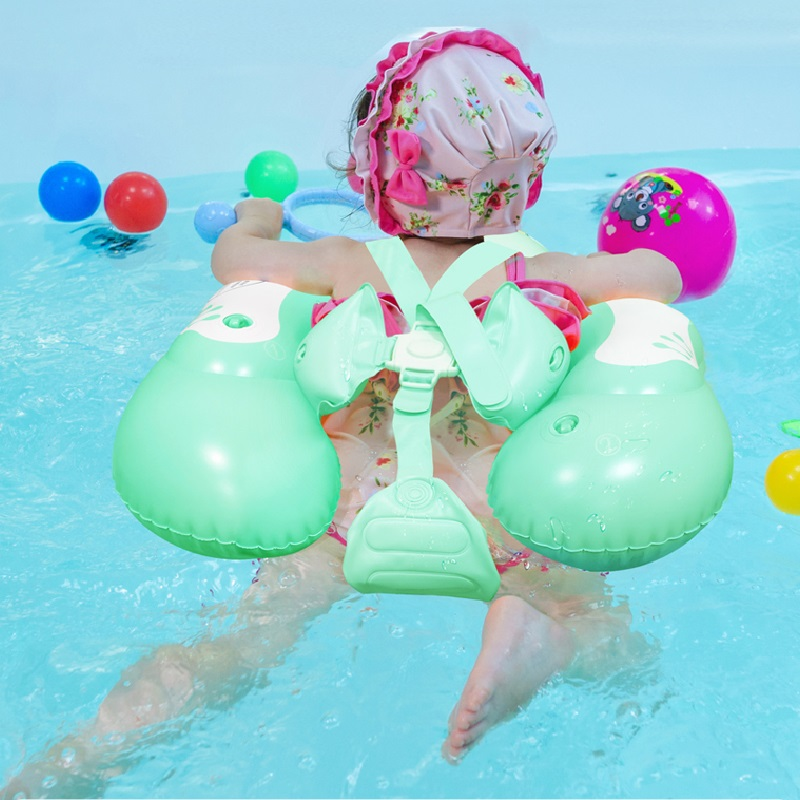 Baby Swimming Ring Inflatable Infant Floating Kids Float Swim Pool Accessories Circle Baby Bath Toys  Inflatable Ring Swimtrain