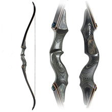 Black Hunter Traditional Beauty Hunting Reflex Bow and Arrow