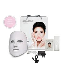 Home Beauty Equipment Led Photon Mask Instrument Seven Color Rejuvenation Charging Spectrometer