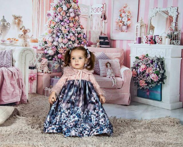 Фото mocsicka розовый рождественский комнатный фон для фотосъемки