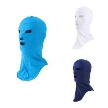 Natation plongée combinaison capuche UV Protection solaire masque complet tête cou couverture visage Bikini élastique bonnet de bain
