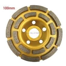 Diamond Segment Grinding Wheel Cup Disc Grinder Concrete Granite Stone Cut Dropship