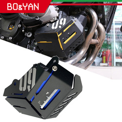 For Yamaha MT 09 MT09 FZ 09 FZ09 2014 2015 2016 Motorcycle coolant recovery tank shielding protection cover
