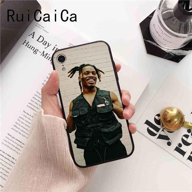 Ruicaica Denzel Curry Rappeur Uniques de Luxe étui pour téléphone design pour iPhone 8 7 6 6S 6plus X XS MAX 5 5S SE XR Couverture