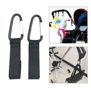 Baby Stroller Hooks Pushchair-Carriage Buggy Adjustable Outdoor En Convenient
