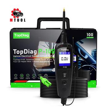 JDiag Power Pro P100 nowa generacja Tester obwodu elektrycznego dla samochodów samochody i ciężarówki tanie i dobre opinie ITCARDIAG CN (pochodzenie) P-100 3 9inch 10 1inch Testery elektryczne i przewody pomiarowe 1 3kg 7 1inch from 9V to 70V
