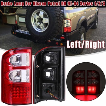 RED Rear Left/Right Tail Light Brake Lamp fit For Nissan Patrol GU 1997 1998 1999 2000 2001 2002 2003 2004 Series 1/2/3 1pc/2pcs